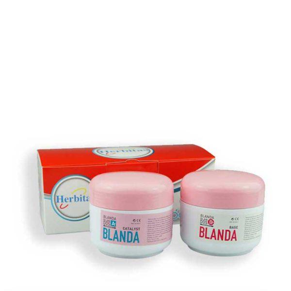 Silikon dwuskładnikowy BLANDA-BLANDOS A+B 200g+200g Herbitas