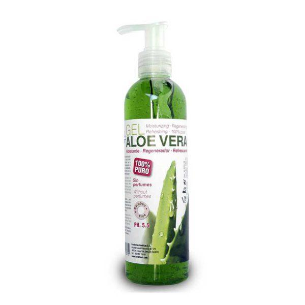 Żel Aloe Vera z dozownikiem 250ml Herbitas
