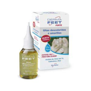 Olejek do spłowiałych i pożółkłych paznokci z aplikatorem DermaFeet 50ml Herbitas
