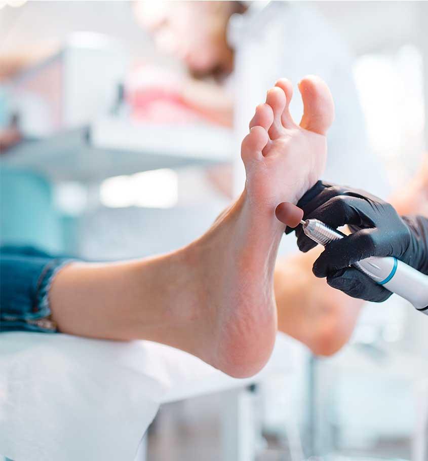 Pedicure i manicure - usługi łączone