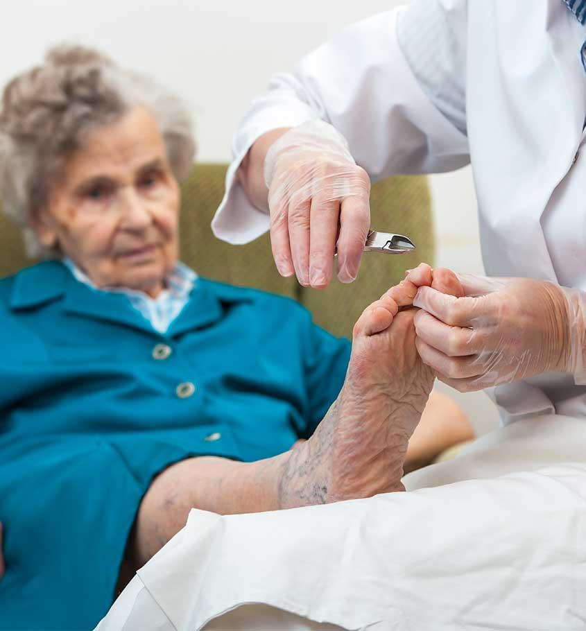Wizyty domowe - usługi podologiczne z dojazdem do pacjenta